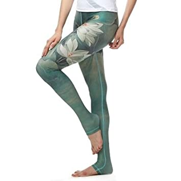 JIALELE Pantalon Yoga La Niña Capri Tinta Capri Yoga Estirar ...