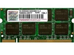 2286781 TRANSCEND MEMORY 1GB DDR 400MHZ (PC 3200) CL2.5 NON-ECC NON-REGISTERED SO-DIMM, (400 Memory Mhz Sodimm)