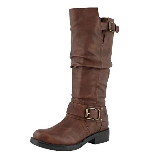 Wide Women's Boot Calf High Trisha Tan SoftMoc Knee wE8Zw