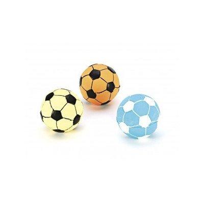Fiber Latex Soccer Ball Dog Toy [Set of 3] ()