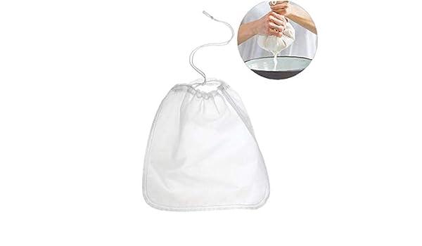 Compra CULER Tuerca de la Leche Bolsa Reutilizable La Leche de almendras Bolsas Comercial Food Grade Fina Malla de Nylon Alimentación tamiz del Fabricante del Queso y café y té Filtro en