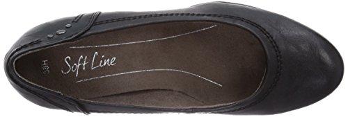 up Heeled 1 Softline Shoes Black Lace Front 22460 wxRwqFz6t