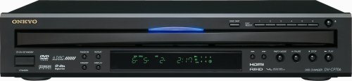 Onkyo DV-CP706B 6-Disc DVD Player (Black) by Onkyo
