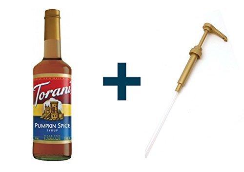 (Torani Pumpkin Spice Syrup + Pump)