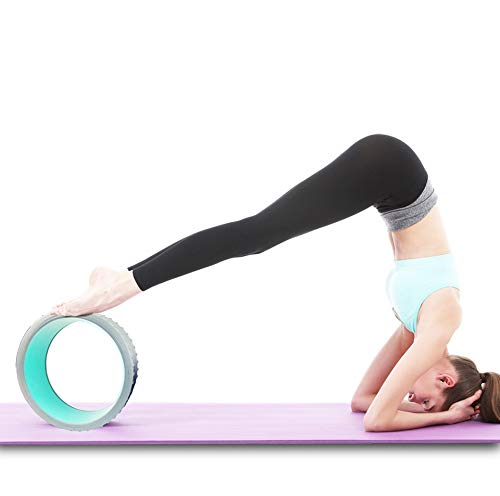 Amazon.com: Rueda de yoga, rodillo de masaje de EVA, más ...