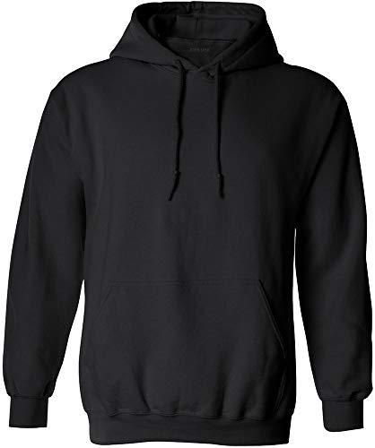 (Joe's USA - Big Mens Size Four Extra Large Hoodie Sweatshirts-4XL in Black)