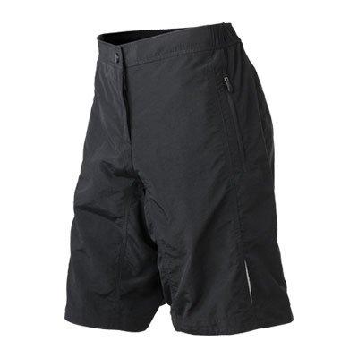 JAMES NICHOLSON Damen Bike Shorts JN460-XXL-schwarz, Damen