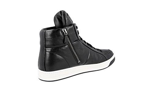 ... Prada Kvinners 3t5770 Skinn Sneaker ...