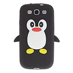 Nsaneoo - Penguin Style Silicone Soft Back Case for Samsung Galaxy S3 I9300 , Pink
