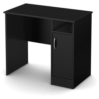 South Shore Axess Work Desk Small Pure Black