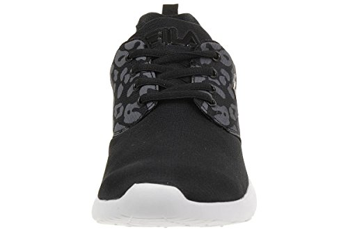 Fila Alva Low W Run Women Running Trainers Sneakers fitness black nwd5NUos