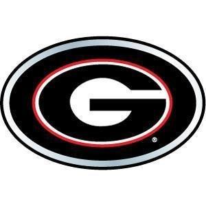 Amazoncom Promark Georgia Bulldogs Color Auto Emblem Sports Fan
