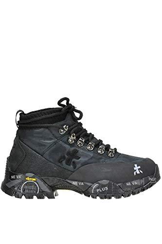 Sneakers verde Mcglcas000004053i Top Donna Premiata Hi Nero Tessuto TFUgxB7n