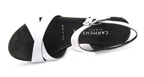 Carmens padova - Sandalias de vestir de Piel para mujer blanco