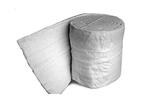 BRB Products 1'' x 24'' x 25' - 6 lb Density, Ceramic Fiber Blanket by BRB Products