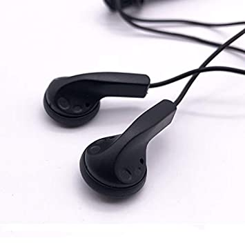 Maeline Bulk Earbuds Headphones Wholesale Earphones Disposable Ear Buds Bulk Individually Wrapped Headphones for School Classroom 100 Pack