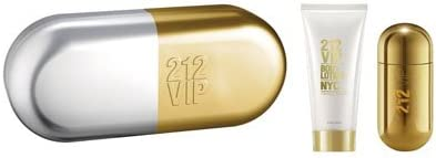 Carolina Herrera 212 Vip Eau De Perfume Spray 50ml Set 2 Piezas: Amazon.es: Belleza
