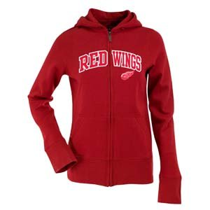 Antigua Women's Detroit Red Wings Signature Hood Applique Full-Zip Sweatshirt (Antigua Detroit Red Wings Jacket)