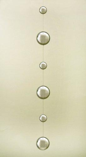 6 stainless steel gazing ball - 8