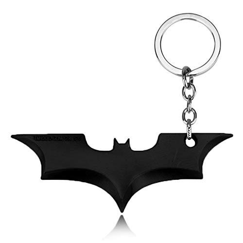 XIAOL Home Colgante Llavero con el Logo de Batman de ...
