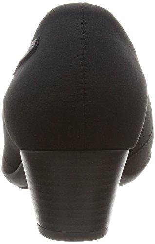 MEPHISTO Women's MILA Goretex Block Heel Shoe (M1724) Black f4pU6lhD01