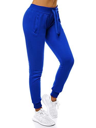 OZONEE Damen Jogginghose Hose Trainingshose Sporthose Freizeithose Motiv Damenhose Fitnesshose Sweatpants Sweathose Fußballhose Joggpants JS/CK01