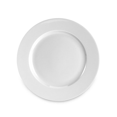 Everyday White® by Fitz and Floyd® Rim 8-Inch Round Porcelain Salad Plate