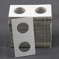 100 portamonedas de cartón 1.5x1.5 MEDIOS DÓLARES