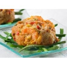 (Phillips Frozen Crab and Shrimp Cake, 3 Ounce -- 12 per case.)