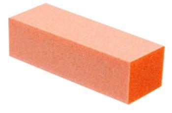 3 way nail buffer buffing block 100 pcs orange by vipolish