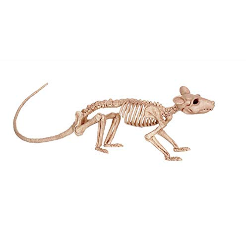 XWU Plastic Static Mouse Mouse Skeleton Funny Plastic Model Decoration Entertainment Halloween]()