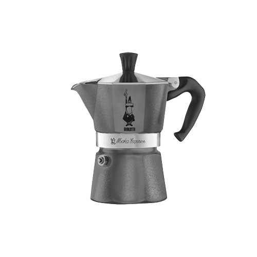 Bialetti 5311 Moka Emotion Espresso Maker, Grey