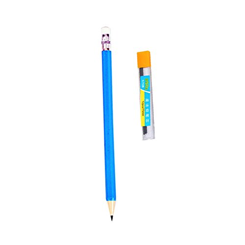 JUNDA 12Pencils with 12Refill Lead 0.7mm Child Ergonomic Coloring Automatic Mechanical Propelling Clutch (Propelling Pen Refill)