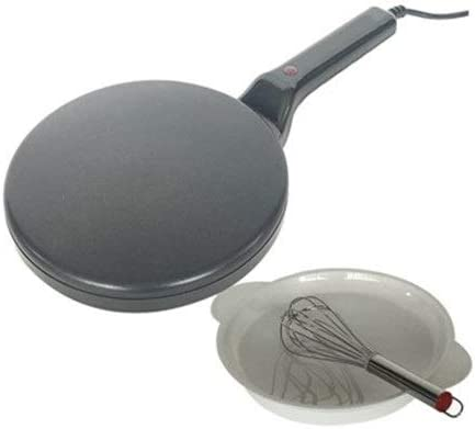 Opinión sobre Zcm Crepera Eléctrico Antiadherente Molde de Horno eléctrico de la Torta crepería máquina portátil Pan máquina eléctrica de la Parrilla de la Crepe de la máquina (Color : Black)