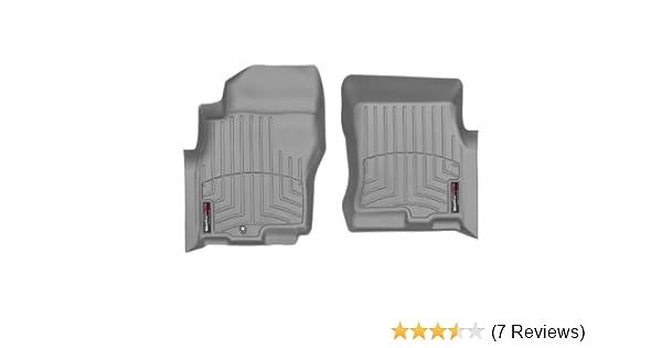 WeatherTech Custom Fit Front FloorLiner for Select Nissan Xterra//Pathfinder Models Grey