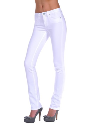 Henry & Belle Women's Signature Straight in White White Jeans 24 X 34