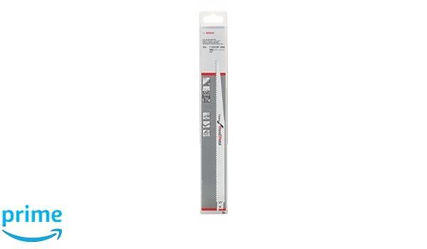 Heavy for Wood and Metal Bosch 2 608 657 562 Hoja de sierra sable S 1411 DF pack de 25