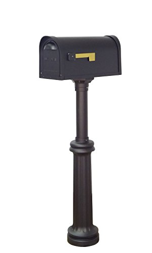 Special Lite Products Company Classic Curbside Two Door Mailbox And Bradford Mailbox (Bradford Mailbox Post)