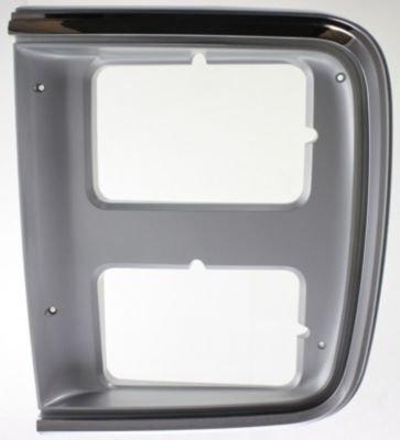 - CPP Chrome Dual Left Side Headlight Door for 83-91 Chevrolet G20, Van GM2512124