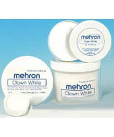 Mehron Clown Blanc Maquillage (2 oz)
