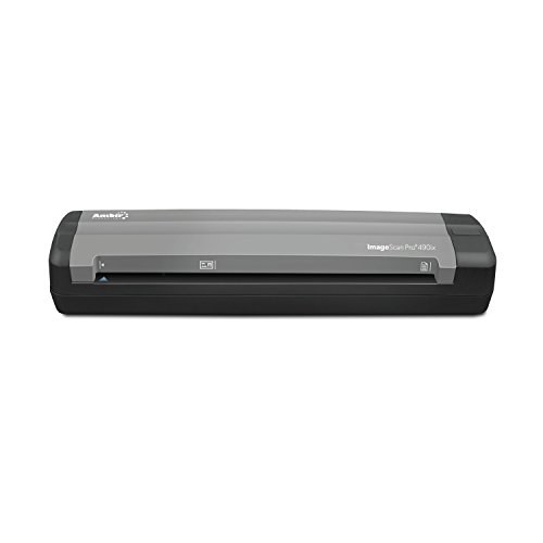 Ambir Technology ImageScan Pro 490ix Sheetfed Scanner – 600 dpi Optical DS490IX-AS