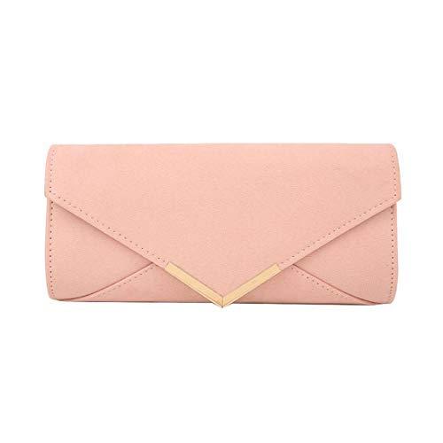 Argent pour Diva Haute Enveloppe Femmes Pochette Rose Large Cendré Classique B6xpYxw