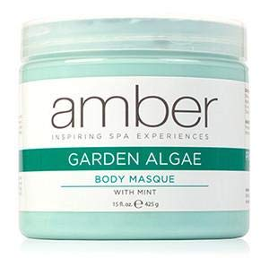 Amber Massage & Body Garden Mint Algae Body Masque 15 oz by Amber Massage & Body
