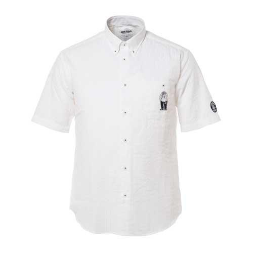 (シナコバ) SINA COVA 半袖ボタンダウンシャツ B0725P74WL LL|オフ オフ LL
