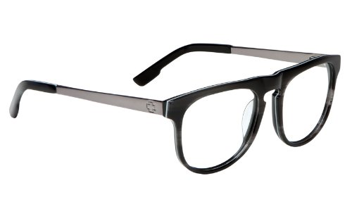 Spy Optic Eyeglasses Unisex Maxwell RX Frame, Black Smoke/Gunmetal, - Eyeglasses Optic