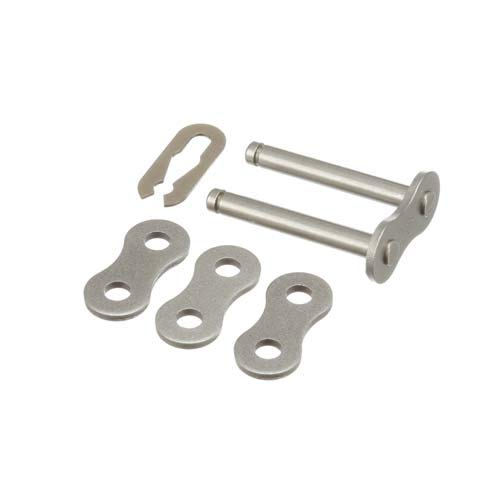 Connecting Link - Chain & Pitch: 50/5/8 in, Spring Clip, Carbon Steel Material (Pack of10)