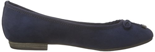 Flats 2 2 805 Ballet Marco Tozzi 34 22135 Women Blue Navy tpAxt0wZq
