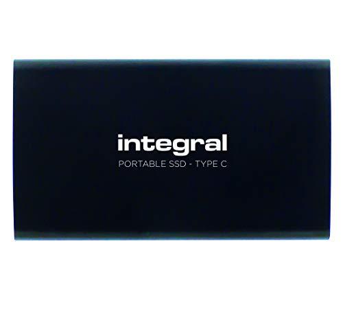 Integral 480GB Draagbare SSD Drive USB3.1 Externe SSD Zwart