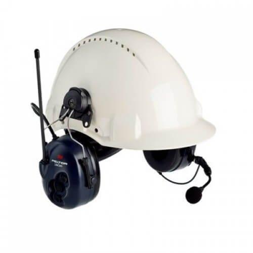 3M (MT53H7P3E4600-NA) Lite Com BRS 2-Way Radio Headset, MT53H7P3E4600-NA, Hard Hat (Peltor Hard Hat)