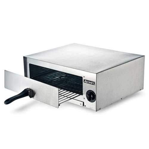Adcraft CK-2 Countertop Pizza/Snack Electric Oven, Stainless Steel, 1450-Watts, 120v by Adcraft